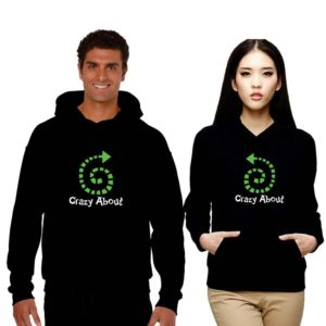 Crazy About You Couple Sweatshirt