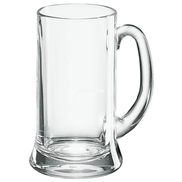 Engraved Icon Beer Mug