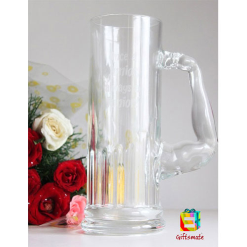 Engraved Muscolo Beer Mug