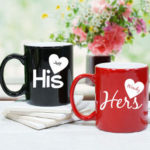 Personalized Charming His and Hers Couple Mugs-4