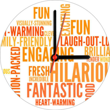 Fantastic Birthday Wall Clock