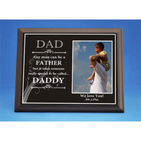 Personalized Special Daddy Plaque