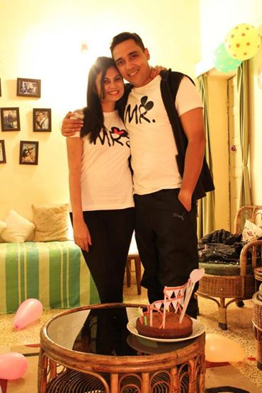 happy customer with our romantic couple tshirts