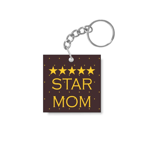 5 Star Mom Keychain
