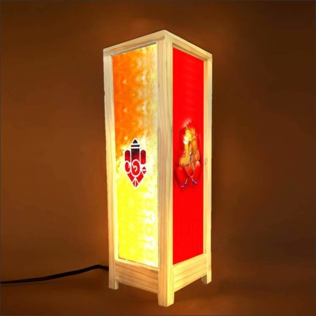 Devotional Lord Ganesha Decorative Table Lamp