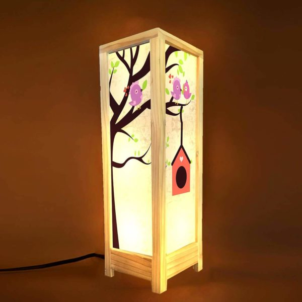 Happy Home Decorative Table Lamp