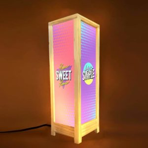 Life is Simple Home Sweet Home Decorative Table Lamp