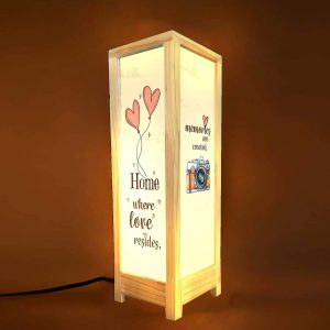 Home Where the Story Begins Decorative Table Lamp