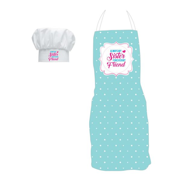 Always My Sister Forever My Friend Apron