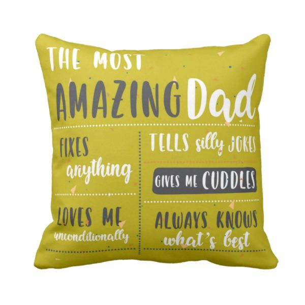 Amazing Dad Cushion Cover