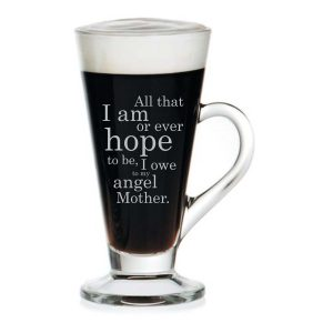 Angel Mom Engraved Tea Mug