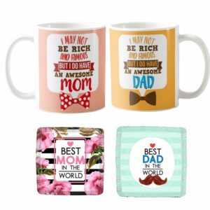 Awesome Mom Dad Mugs1 KH5846