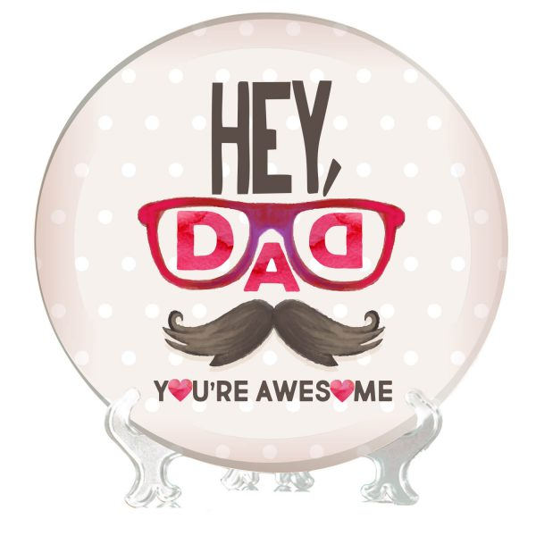 Awesome Dad Decorative Plate