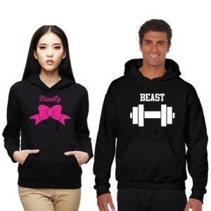 Beauty and Beast Couple Sweatshirts