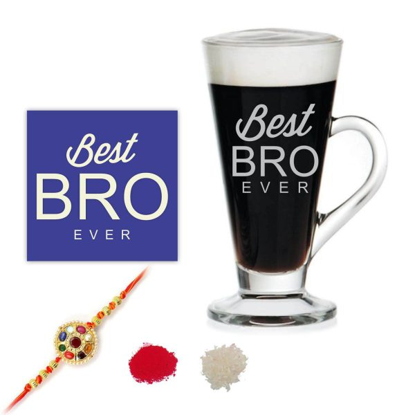 Best Bro Ever Brother Engraved Tea Mug