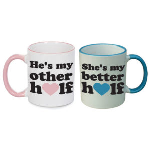 Best Halves Couple Mugs