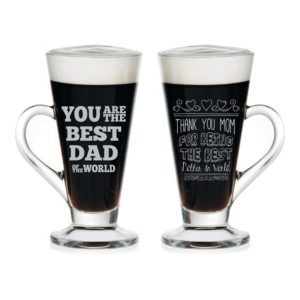 Best Mom Dad Engraved Tea Mugs