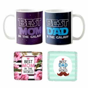 Best Mom Dad in the Galaxy Mugs KH5848