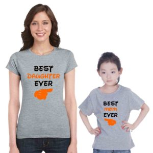 Mom and Daughter Family T-shirts