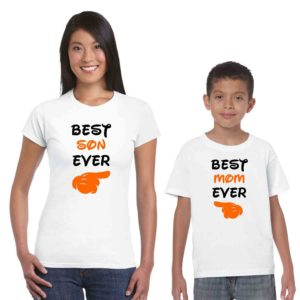 Best Mom Ever Best Son Ever Tshirt (3)