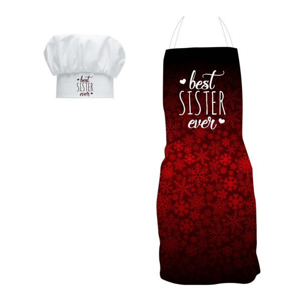 Best Sister Ever Heart's Apron