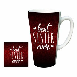 Best Sister Ever Latte Mug