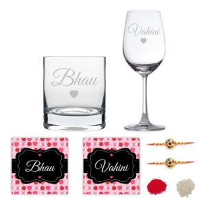 Bhau Vahini Wine and Whiskey Glass