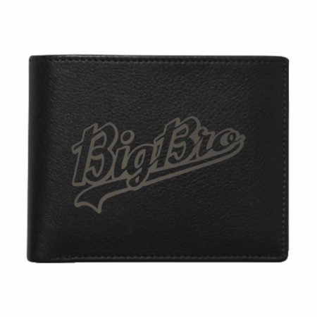 Big Bro Men's Leather Wallet for Brother