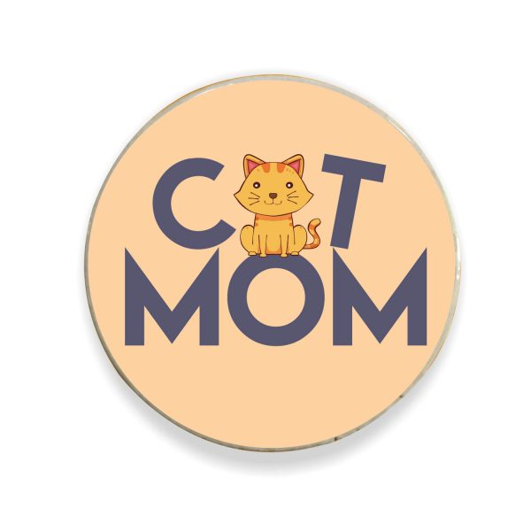Cat Mom Fridge Magnet