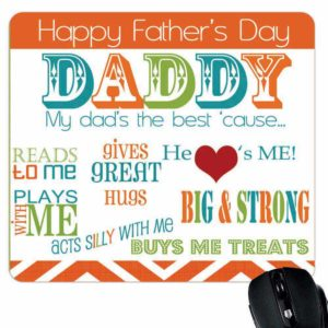 Big Strong Daddy Mouse Pad