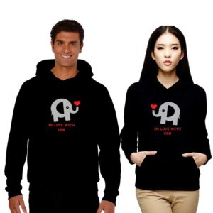 Cute In Love with You Couple Sweatshirts
