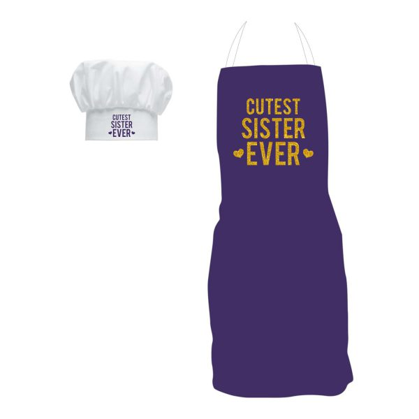 Cutest Sister Ever Apron