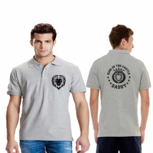 Daddy King of the Castle Polo T-shirt