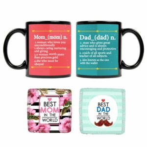 Definition of Mom Dad Mugs KH5850