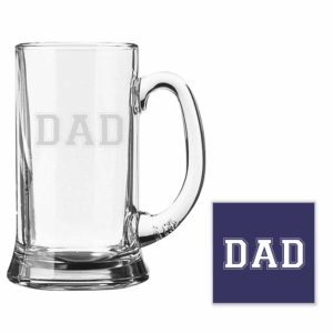 Engraved DAD Beer Mug_Coaster
