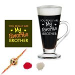 Favorite Brother Engraved Tea Cups
