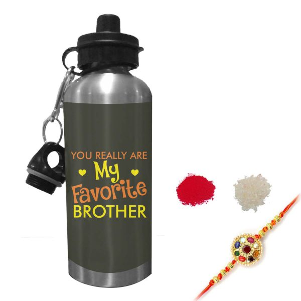 Favorite Brother Sipper Water Bottle
