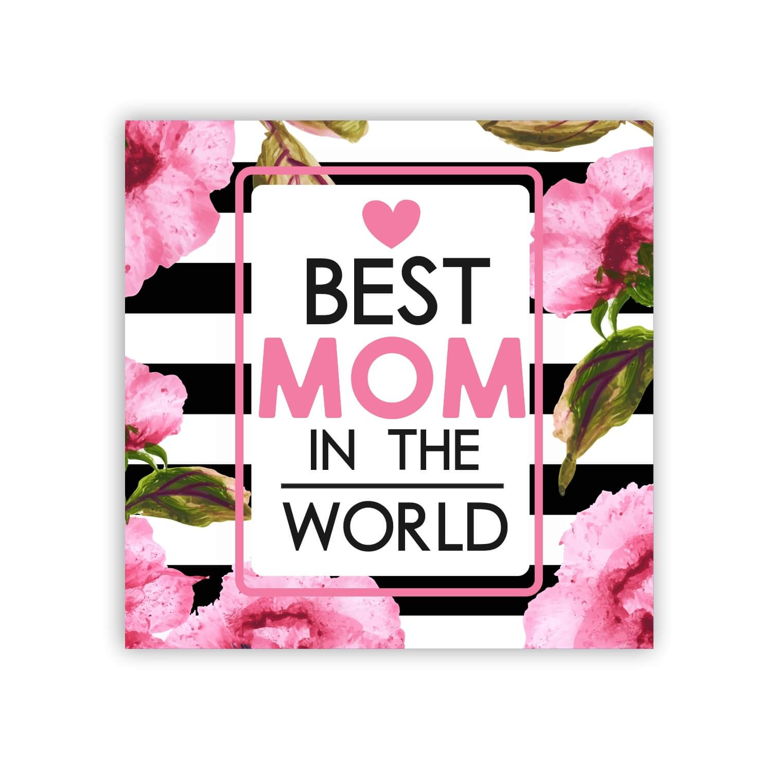 PERSONALIZED WORLDS GREATEST MOM MOTHER MAGNET