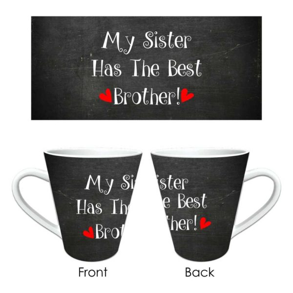 Funny Best Brother Conical Mug