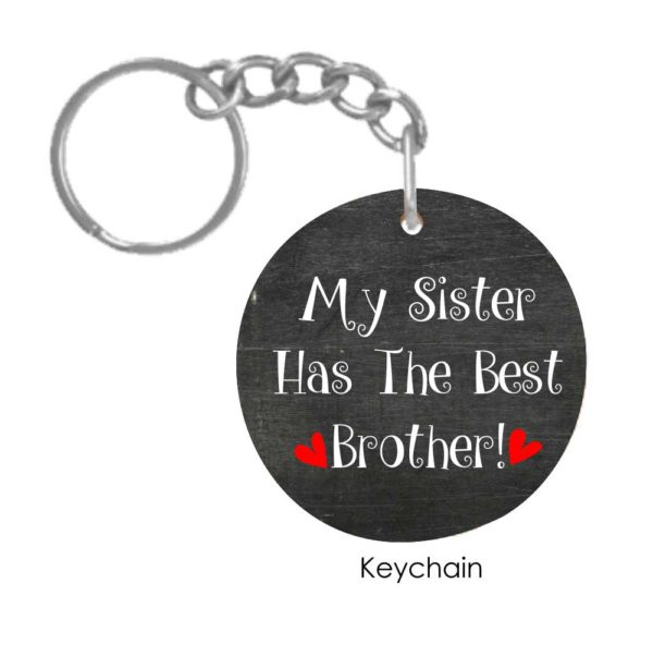 Funny Best Brother Conical Mug keychain