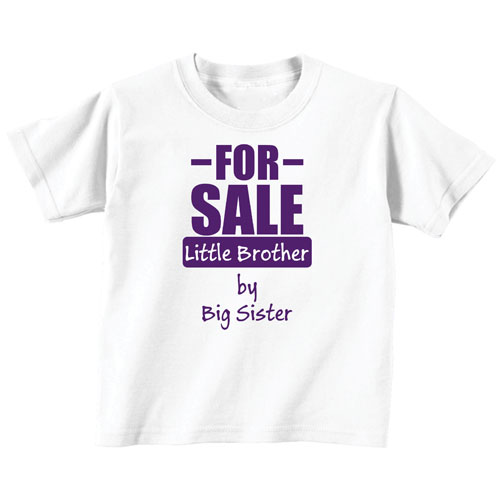 Funny For Sale Lil Brother T-shirt