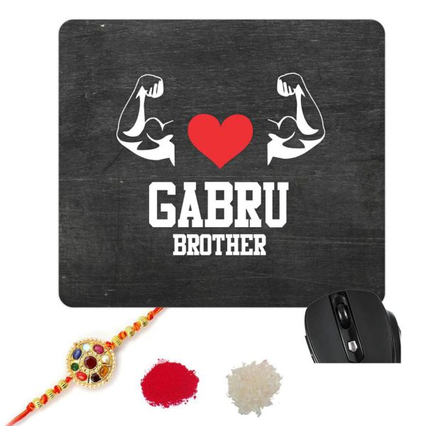 Gabru Brother mouse pad-1