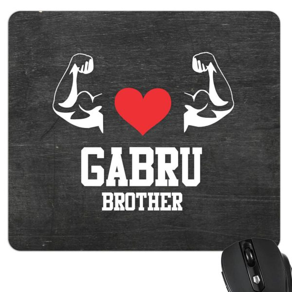 Gabru Brother mouse pad-2