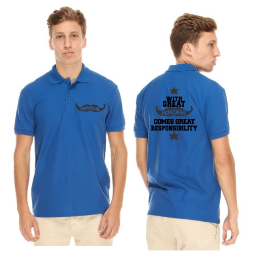 Great_Moustache_Great_Responsibilty_Polo_Tshirt_RB_1