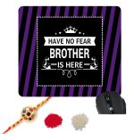 Have No Fear Brother Is Here Mousepad-1