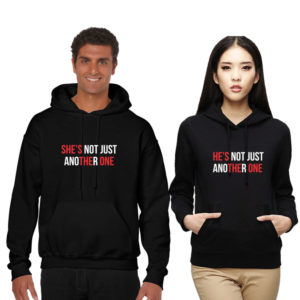 He is the One She is the One Couple Sweatshirt