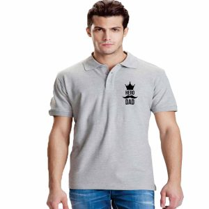 Hero Dad Polo T-shirt