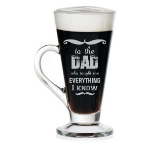 Everything Dad Engraved Tea Mug