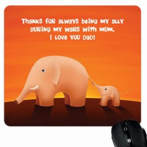 I Love You Dad Mouse Pad