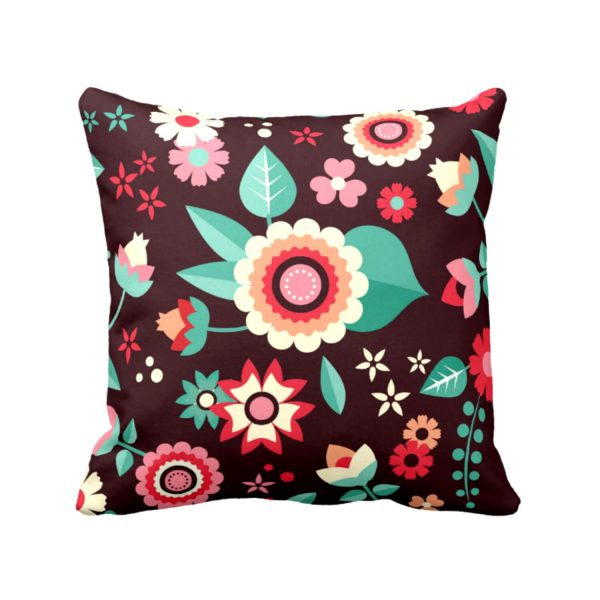 Admirable Floral Flowers Printed Cushion Covers
